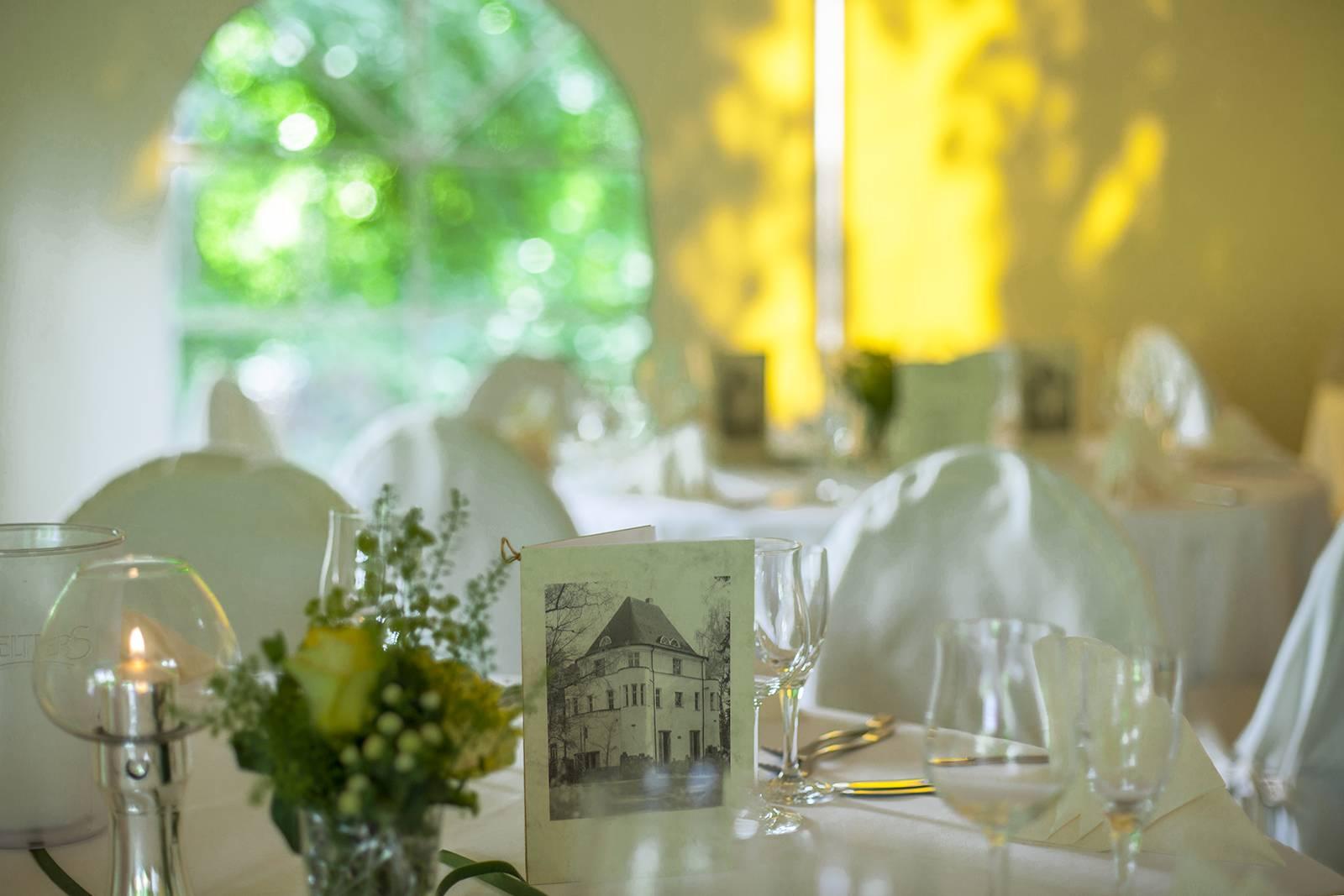 Arrangements zum Hochzeitstag